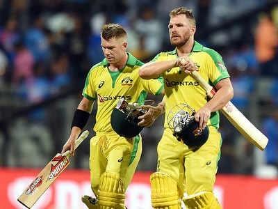 آسٹریلیا نے ہندوستان کو 10وکٹ سے شکست دی،ڈیوڈ وارنراور اورن فنچ  کی زبردست سنچریوں