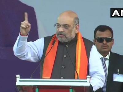 ہبلی میں وزیر داخلہ امیت شاہ کی سی اے اے حمایت ریلی : سی اے اے کے مخالفین دلت مخالف ہیں