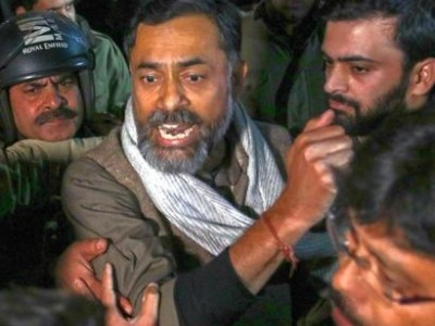 'Modi government can see white cap and hijab, not tricolour': Yogendra Yadav on CAA