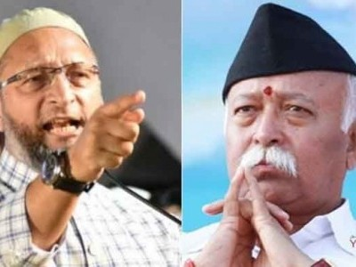 Real problem in country is unemployment, not population: Owaisi tells Mohan Bhagwat