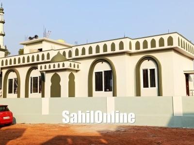 Masjid Khadijatul Kubra managed by Markaz Hafiz Ibne Hajar inaugurated at Jaali road in Bhatkal