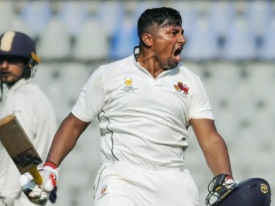 Ranji Trophy: Mumbai's Sarfaraz Khan joins illustrious list after maiden first class triple ton vs UP