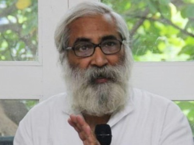 FIR against Magsaysay Award winner Sandeep Pandey for remarks on Savarkar in Aligarh