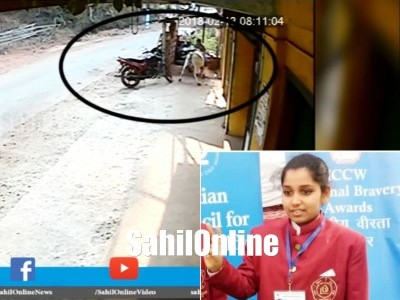 Honnavar girl who rescued her brother from Ox rampage to get 'National Bravery Award' in Delhi