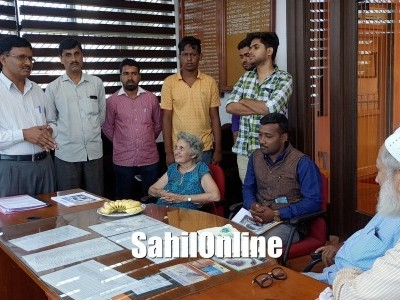 Almitra Patel, Indian environmental policy advocate and anti-pollution activist visit Bhatkal TMC office