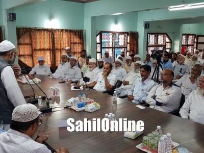 Mohammed Saad Belgami, State president of the Jamaat-e-Islami Hind (JIH) visit Tanzeem Bhatkal