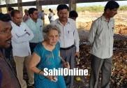 ماحولیاتی تحفظ کمیٹی کی ممبر وکیل آل میترا کا بھٹکل دورہ : کچرانکاسی مرکز کامعائنہ