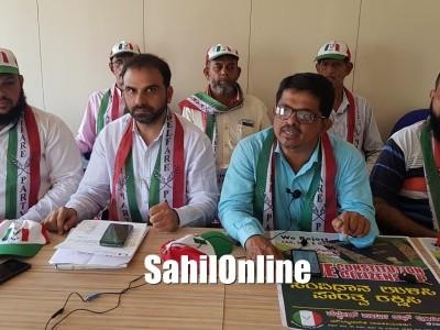 بھٹکل میں ویلفئیر پارٹی آف انڈیا (ڈبلیو پی آئی ) کی جانب سے دستور بچاؤ،شہریت بچاؤ مہم