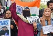 دہلی: حوض رانی کا گاندھی پارک بھی بنا 'شاہین باغ'، سی اے اے کی مخالفت میں خواتین سراپا احتجاج