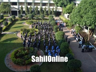 Green Valley National School. Green Valley National School, Shiroor celebrates 71st Republic Day