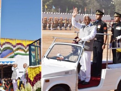 Karnataka celebrates Republic Day with fanfare