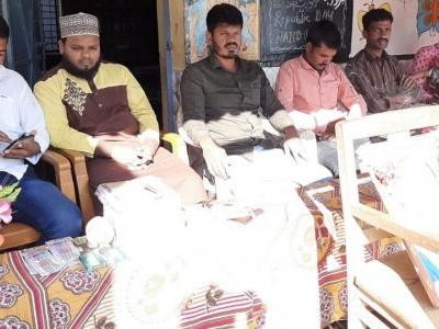 بھدراوتی کے موضع کلیہال کے سرکاری پرائمری اسکول میں 71ویں جشن یومِ جمہوریہ ہند کا انعقاد