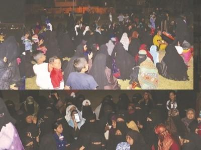 شہریت قانون کی مخالفت میں اب شیموگہ میں نظر آرہا ہے شاہین باغ ؛26 جنوری کی رات کو پبلک پارک میں عورتوں کا جم غفیر!