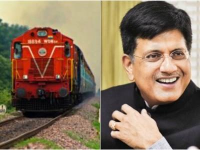 By 2024, railways to run 100 percent on electricity, says Piyush Goyal