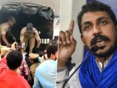بھیم آرمی کے صدر چندر شیکھر آزاد حیدرآباد پہنچتے ہی گرفتار