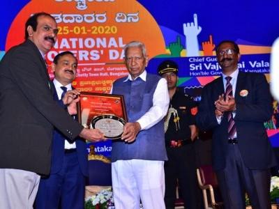 ಅತ್ಯುತ್ತಮ ಇಎಲ್ಸಿ ರಾಜ್ಯ ಪ್ರಶಸ್ತಿ ಪಡೆದ ಡಾ.ಎಸ್.ಮಂಜಪ್ಪ