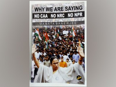 Mamata Banerjee launches her book on CAA, NPR, NRC
