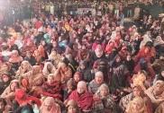 'شاہین باغ' خاتون مظاہرین کا حوصلہ بڑھانے پہنچیں 8 ریاستوں کی خواتین