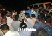 Bhatkal: Sonarkeri residents protest against conversion of school into COVID-19 center