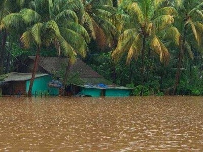 Heavy rain wreaks havoc in Karwar