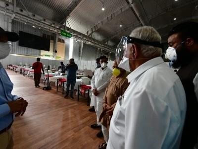 ಬಿಐಇಸಿ ಕೋವಿಡ್ ಆರೈಕೆ ಕೇಂದ್ರ ವಾರದೊಳಗೆ ಸಿದ್ಧ: ಬಿ.ಎಸ್. ಯಡಿಯೂರಪ್ಪ