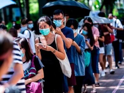 ووٹنگ کے ذریعے ہانگ کانگ میں علامتی احتجاج