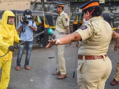 بنگلورو میں535 پولیس اہلکار کورونا کے مرض میں مبتلا، 6 پولیس جوانوں کی موت