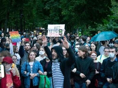 روس: صدر پوٹن کے خلاف احتجاج کرنے والے 140 سے زائد مظاہرین گرفتار