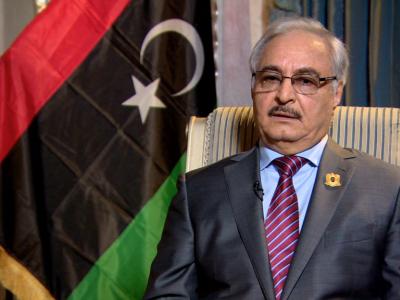 لیبیا: اعلی سطح کے امریکی وفد کی خلیفہ حفتر سے ملاقات