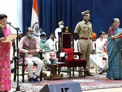 شیوراج کابینہ میں توسیع، 28 وزیروں کی حلف برداری