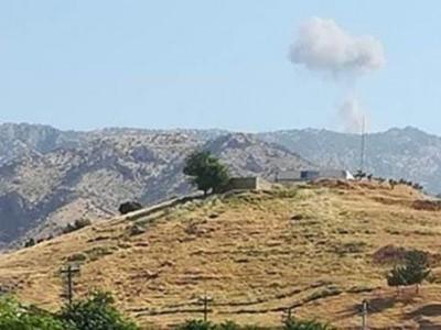 عراق : دہوک میں متعدد علاقوں پر ترکی کے لڑاکا طیاروں کے حملے