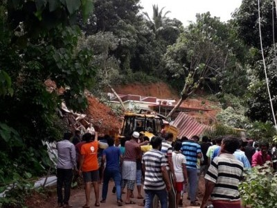 Karnataka govt announces ex-gratia of Rs 5 lakh each for kin of Mangaluru landslide victims