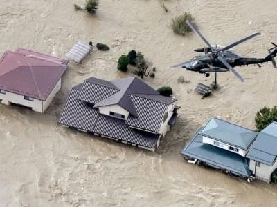 جاپان میں سیلاب اور تودے گرنے سے 7 افراد ہلاک