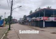 Bhatkal, Uttara Kannada deserted during total lockdown on Sunday