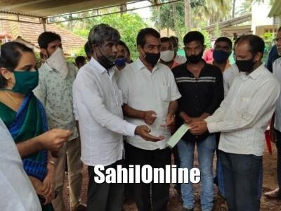 ಮಂಗಳೂರು | ಭೂಕುಸಿತ ಪ್ರಕರಣ: ₹10 ಲಕ್ಷ ಪರಿಹಾರ ವಿತರಣೆ