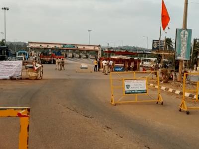 منگلورو۔کاسرگوڈ سرحد پر مسافروں کیلئے پریشانی