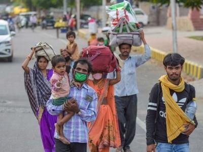 لاک ڈاؤن کے دوران حادثوں میں کم از کم 198 مہاجر مزدوروں کی گئی جان
