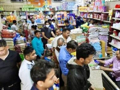 لاک ڈاؤن میں 72 فیصد لوگوں نے کرانہ سامان کے لیے دیا زیادہ پیسہ: سروے رپورٹ