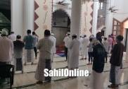 بھٹکل میں لاک ڈاون کے بعد آج سے مسجد عام لوگوں کے لئے کی گئی اوپن؛ کورونا سے بچنے مسجدوں میں خصوصی انتظامات