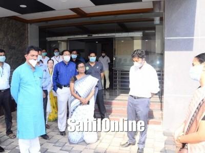 MP Nalin Kumar visit Kateel Wenlock Hospital