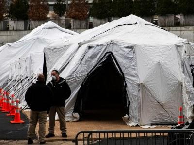 کورونا وائرس: نیویارک میں لاشوں کا ڈھیر لگنے کا اندیشہ، ٹرکوں کو مردہ گھر بنانے کی تیاری