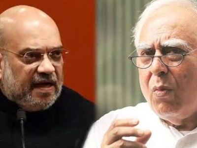India under lockdown, Home Minister mum: Kapil Sibal