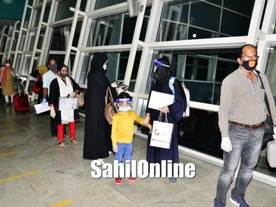 First special flight from Dubai to Mangaluru lands with 177 passengers including 7 Bhatkal peoples