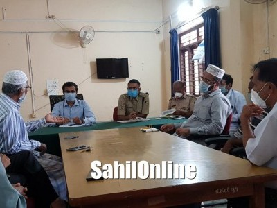 Bhatkal and Lockdown: Taluka administration holds meeting with leaders of different committees to provide relief to Bhatkal to people
