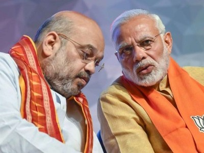 وزیراعظم نریندر مودی سے امیت شاہ کی ملاقات، لاک ڈاؤن 5 پر وزرائے اعلی کی رائے سے واقف کرایا