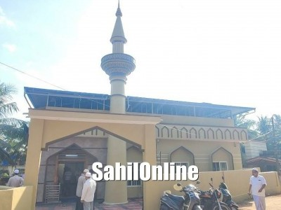 Renovated Masjid Imam Shafa'ee inaugurated in Azad Nagar, Bhatkal