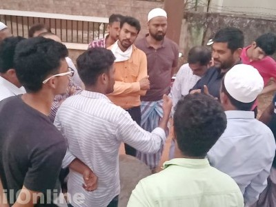 Bhatkal: Locals raise questions over UGD work in Kargadde & KHB Colony, allege mismanagement by contractor