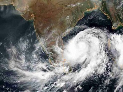 Deep depression off TN intensifies into cyclonic storm
