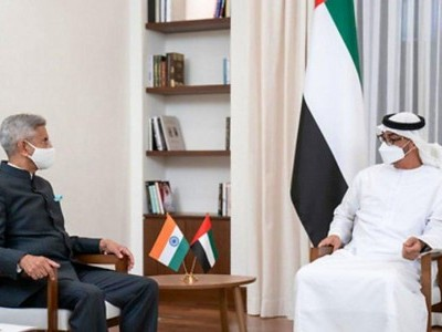 Jaishankar discusses cooperation between India, UAE with Abu Dhabi Crown Prince