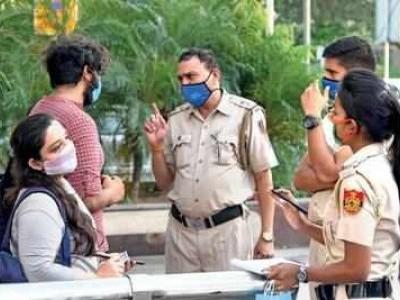 دہلی میں کورونا: چار دنوں میں وصول کیا گیا 1.5 کروڑ روپے کا جرمانہ